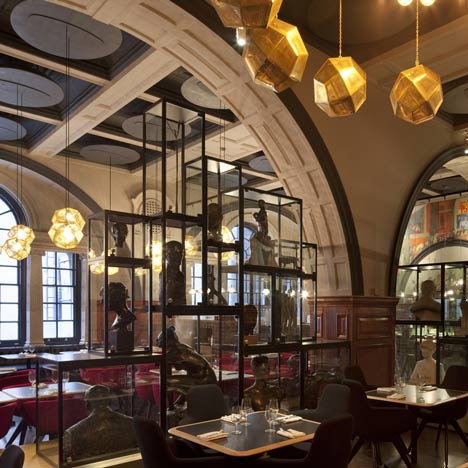 New Royal Academy Restaurant by Tom Dixon