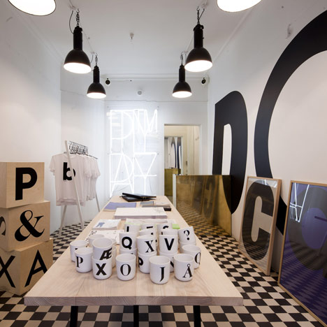 Playtype foundry and concept store by e-Types