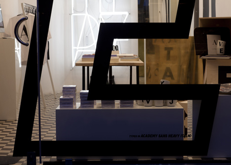 Playtype concept store by e-Types