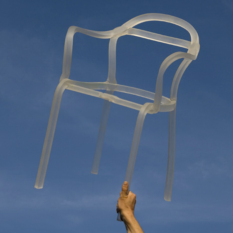 Ideal Sealed Chair by Francois Dumas