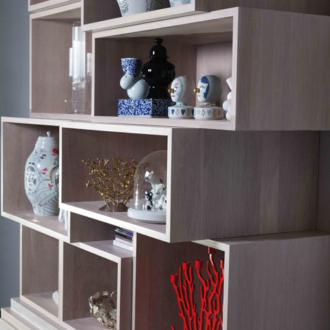 Story cabinet by Maxim Velčovský