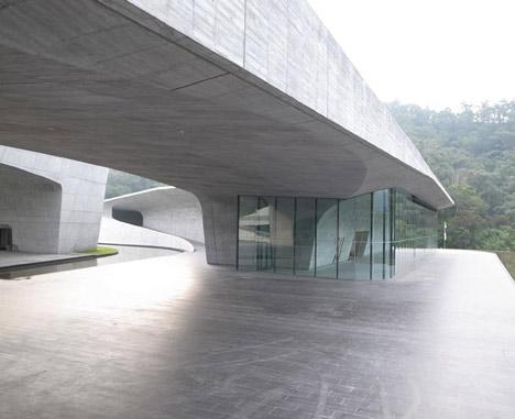 Sun Moon Lake Administration Office by Norihiko Dan and Associates