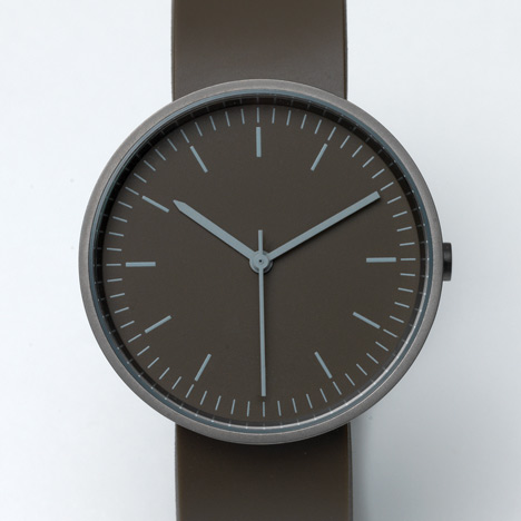 New 100 Series by Uniform Wares at Dezeen Watch Store