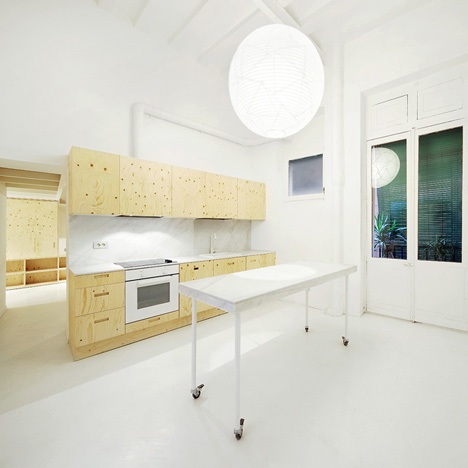 Apartment in El Born by Arquitectura-G