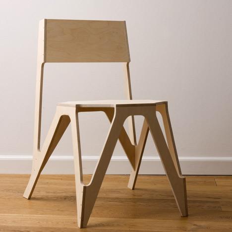 Bone Chair by Julien de Smedt Architects & Bone Chair by Julien de Smedt Architects | Dezeen
