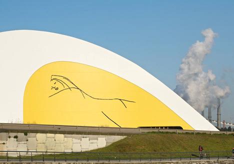 Centro Niemeyer by Oscar Niemeyer