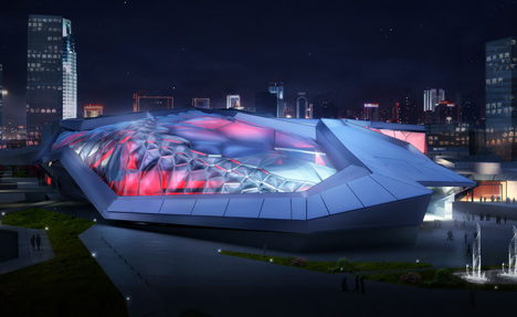 Civic Sports Center and National Games Arena by Emergent