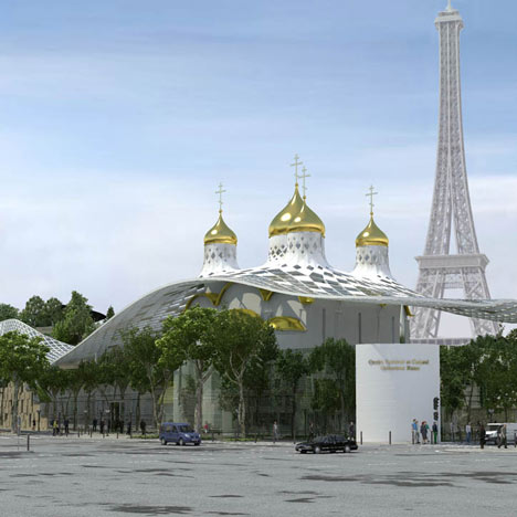 Cultural and Spiritual Russian Orthodox Center in Paris by Arch group and Sade Sarl