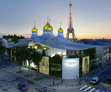 Cultural and Spiritual Russian Orthodox Center in Paris by ... - photo#37
