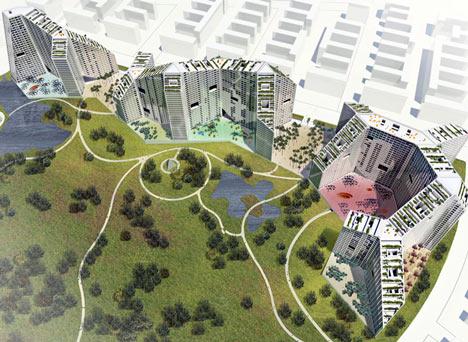 Future Towers India by MVRDV