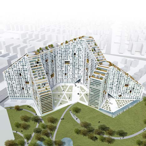 Future Towers India by MVRDV