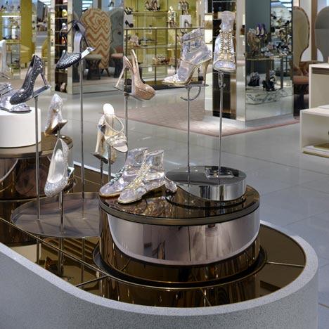 Harrods Shoe Salon by Shed