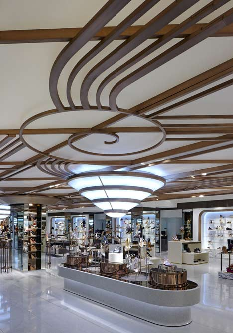 Harrods Shoe Salon by Shed