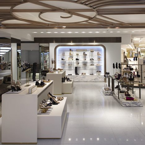 Harrods Shoe Salon by Shed 9