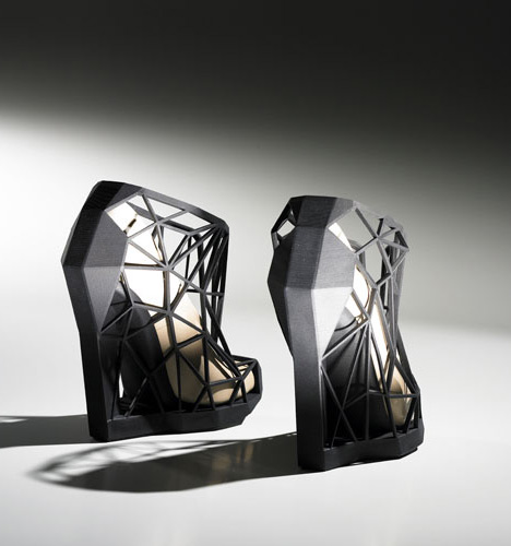 Invisible Shoe by Andreia Chaves