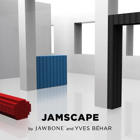 Win a Jambox! Dezeen, Jawbone and Yves Behar seek soundscapes for Milan