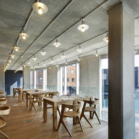 Nottingdale Cafe by Found Associates