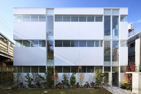 small office building floor plans. Office building by Takeshi