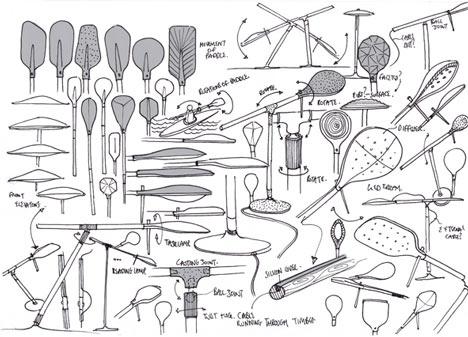 Paddle by Benjamin Hubert