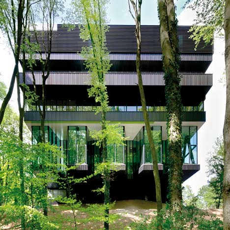 Rehabilitation Centre Groot Klimmendaal by Architectenbureau Koen van Velsen