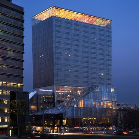 Sofitel Vienna Stephansdom by Jean Nouvel