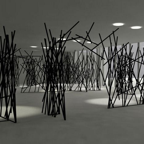 StickingSticks by Kawamura-Ganjavian SQ