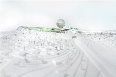 Генеральный план Stockholmsporten от BIG