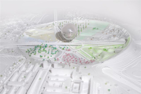 Stockholmsporten master plan by BIG