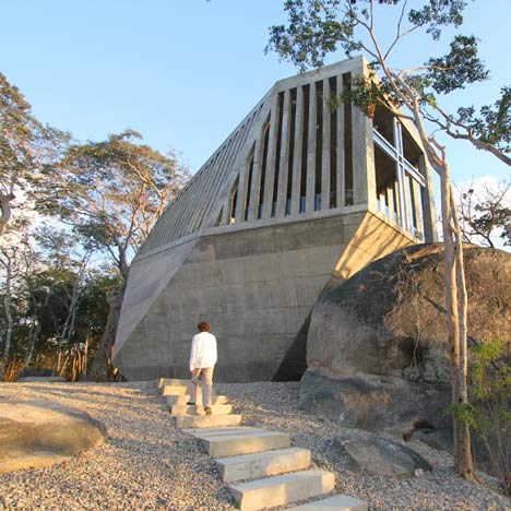 Sunset Chapel by Bunker Arquitectura