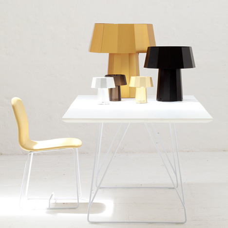 The Espresso Lamp by Piers Mansfield-Scaddan