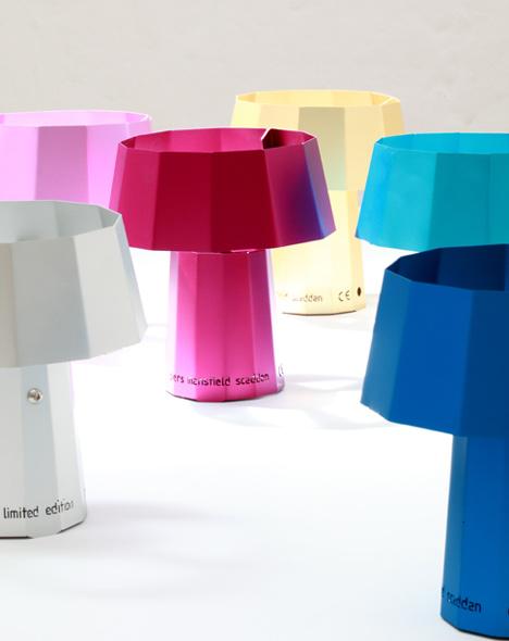 The Espresso Lamp by Piers Mansfield-Scaddan