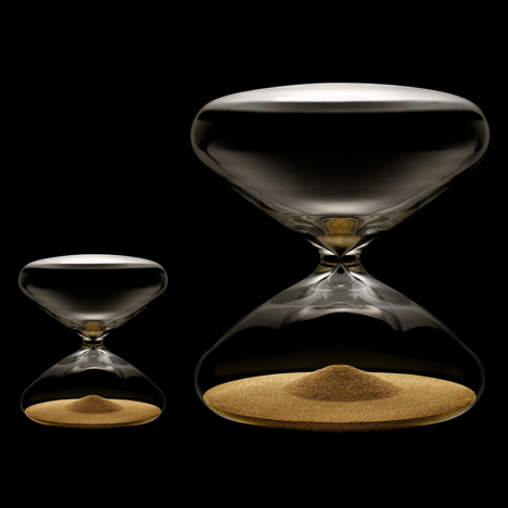 The Hourglass by Marc Newson for Ikepod