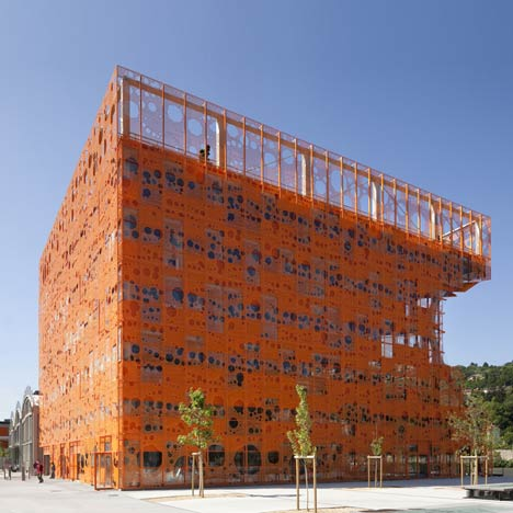 The Orange Cube by Jakob and Macfarlane