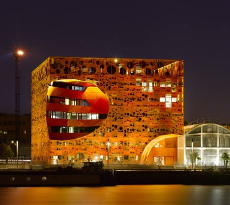 The Orange Cube by Jakob and Macfarlane