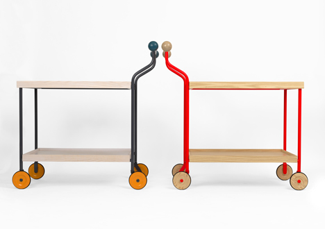 Trolleys by Anna Kraitz for Källemo