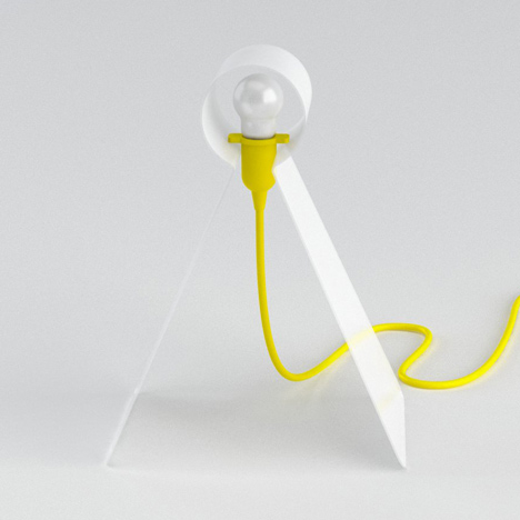 Tweety table lamp by Giorgio Bonaguro