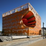The Orange Cube by Jakob + Macfarlane