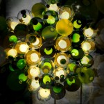 Bocci 28 Series chandelier at Spazio Rosanna Orlandi