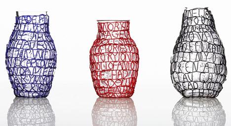 Dezeen: Story Vases by Front