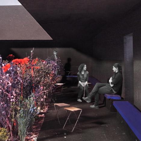 Peter Zumthor Serpentine Gallery Pavilion 2011 Dezeen - interior corner