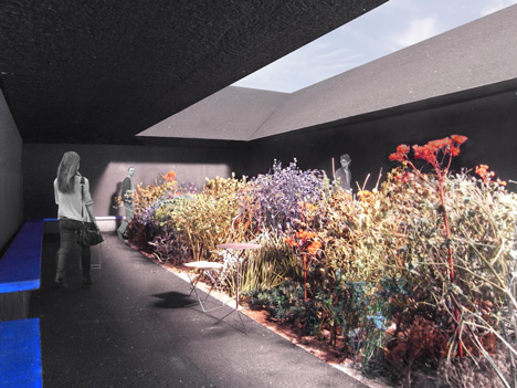 Peter Zumthor Serpentine Gallery Pavilion 2011 Dezeen - central garden space