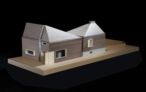 elegant maison leguay by moussafir architectes maison. Black Bedroom Furniture Sets. Home Design Ideas