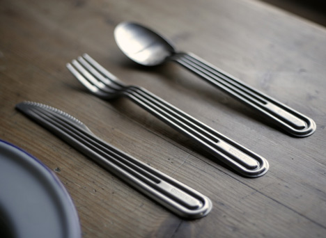 Stamp Cutlery by Tomás Alonso for Italesse