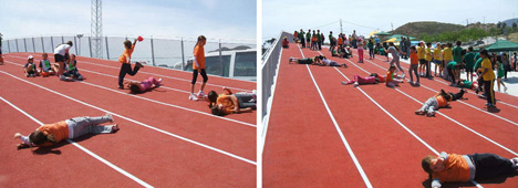 3D Athletics Track by Subarquitectura