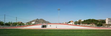 3D Athletics Track by Subarquitectura