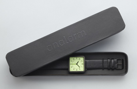 An Alarm by Industrial Facility at Dezeen Watch Store