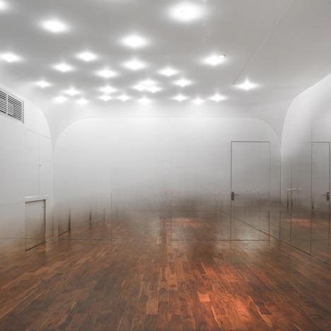 Anzas dance studio by yoshimasa tsutsumi