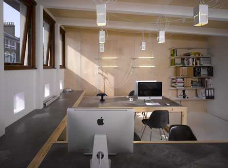 Dezeen Office by POST_OFFICE
