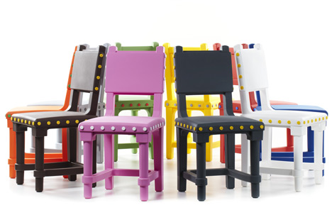 Gothic Chair by Studio Job for Moooi