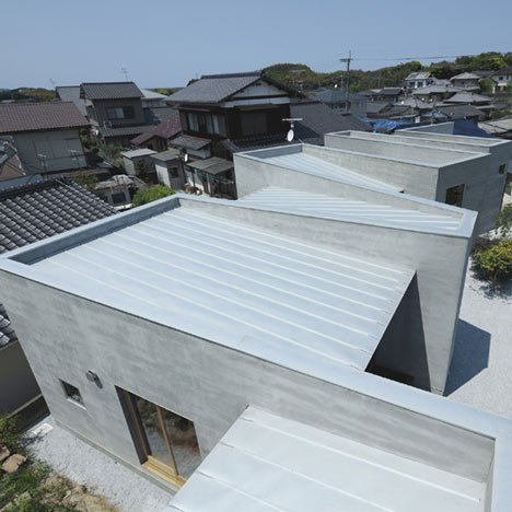 House with a Wall by Masao Yahagi Architects